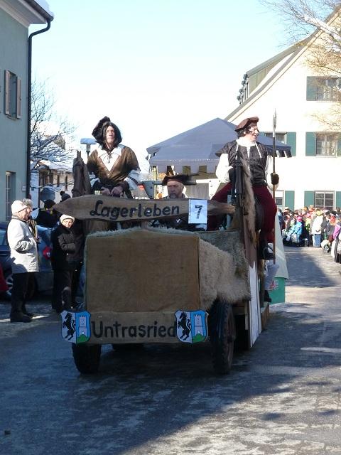 Untrasried - Lagerleben auf dem Faschingsumzug Obergünzburg 2013