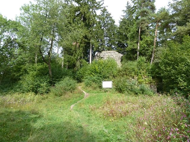 Ruine der Neuenburg bei Durach