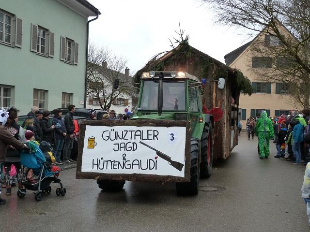 Faschingsumzug Obergünzburg 2014 - Günztaler Hüttengaudi