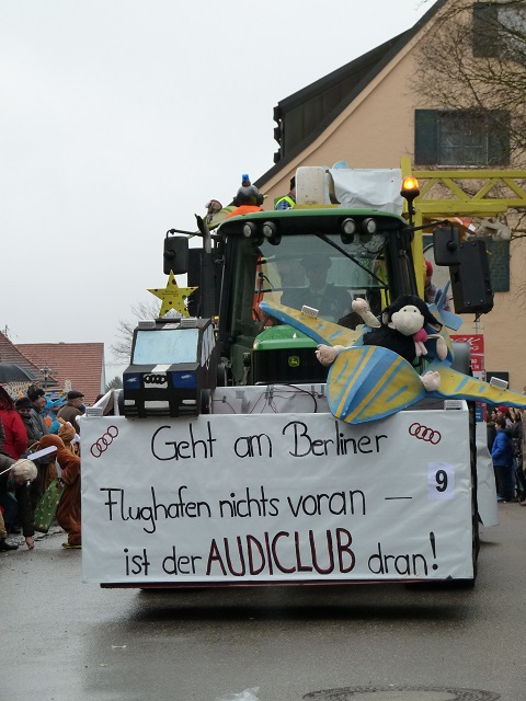 Faschingsumzug Obergünzburg-Audiclub