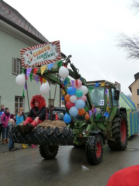 Faschingsumzug Obergünzburg 2014 - Zirkus