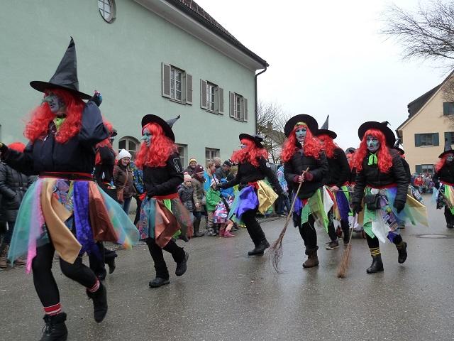 Faschingsumzug Obergünzburg - Hexen