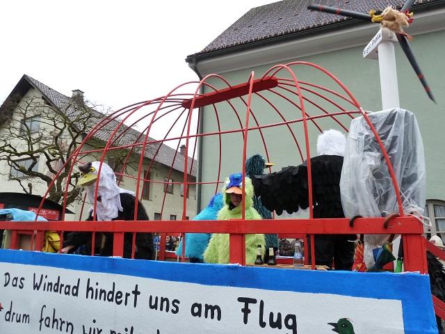 Faschingsumzug Obergünzburg - Untrasrieder Vogelzug-3