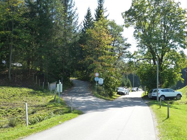 Parkplatz Brandstatt am Senkele