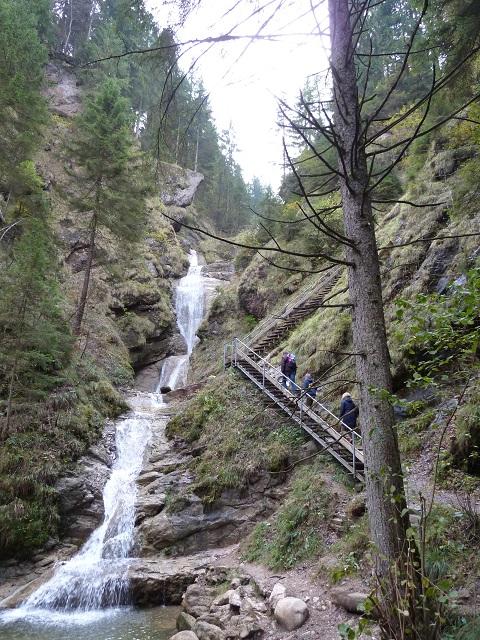 Wasserfall an der Alpspitz bei Nesselwang