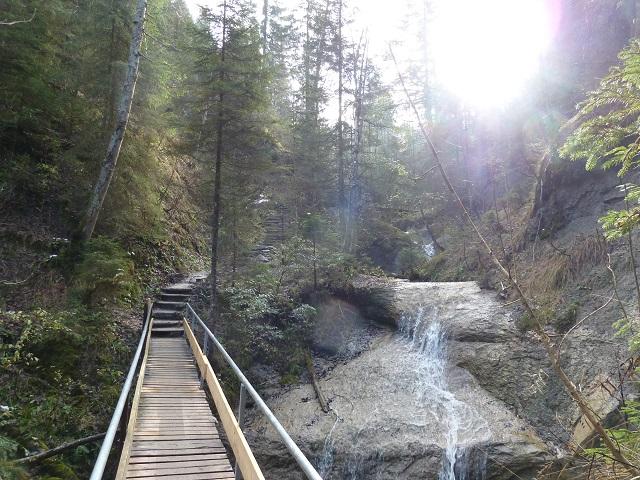 Wanderung auf die Alpspitz bei Nesselwang - auf dem Wasserfallweg