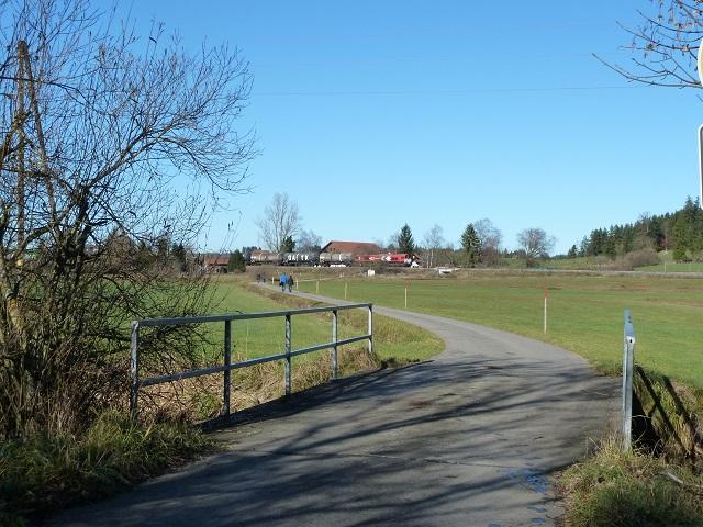 Wanderweg vom Parkplatz Krottenbichl Richtung Aitrang