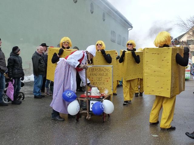Ebersbacher Käseschnittchen im Fasching