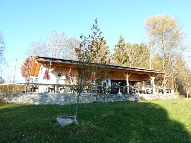 Kiosk am Illasbergsee