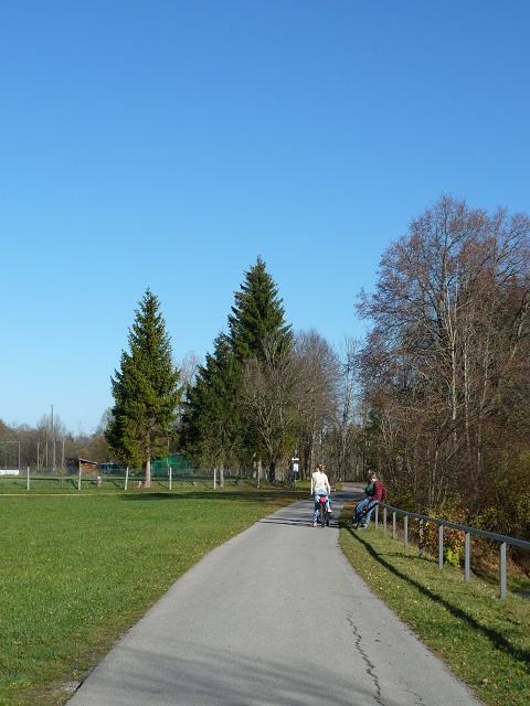 Radweg um den Forggensee bei Füssen