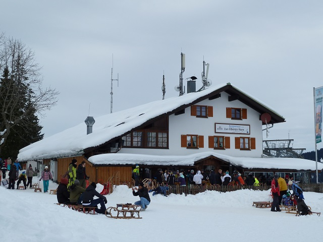 Gasthaus Oberes Horn an der Rodelbahn Bad Hindelang
