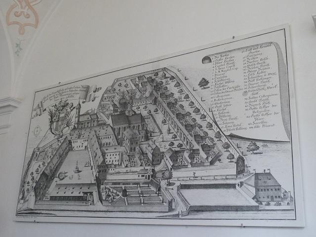 Kartause Buxheim-Ansicht 1755