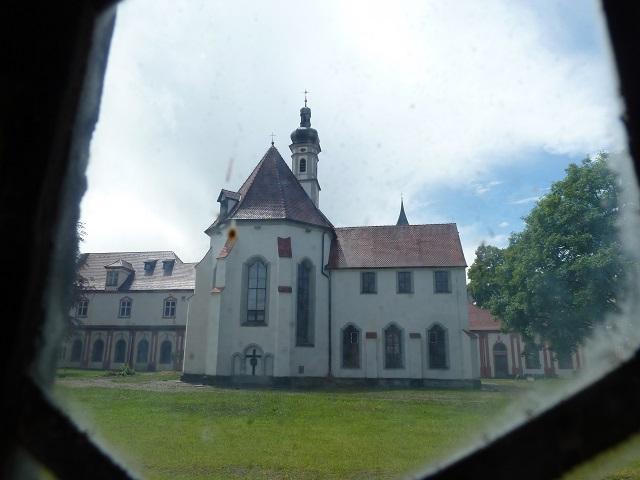 Kartause Buxheim - Blick auf Klosterkirche