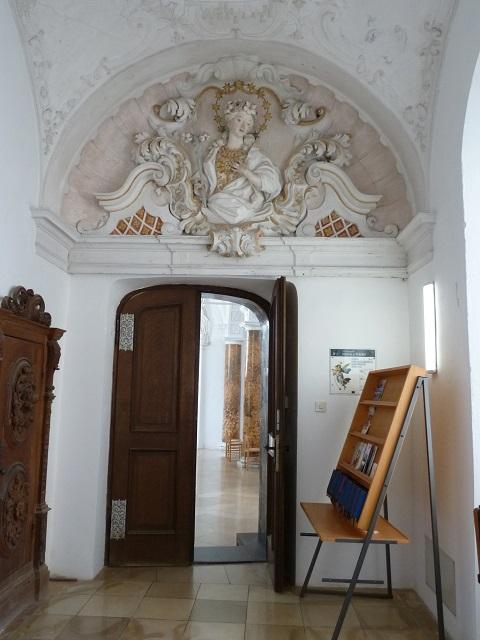 Kartause Buxheim-Duchgang zum Brüderchor