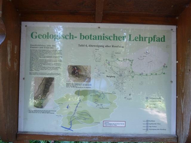 Erzgruben Burgberg Karte