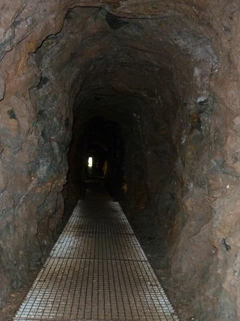 Erzgruben am Grünten - in der Theresien-Grube
