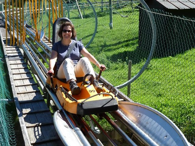 Ankunft mit dem Alpsee Coaster