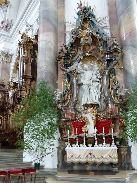 Basilika Ottobeuren Allegorie der Klugheit