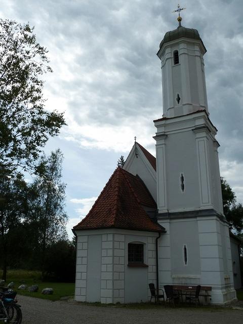 Die Kapelle im Benninger Ried