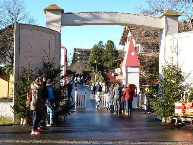 einer der schönsten Weihnachtsmärkte im Allgäu - der Erlebnis-Weihnachtsmarkt Bad Hindelang