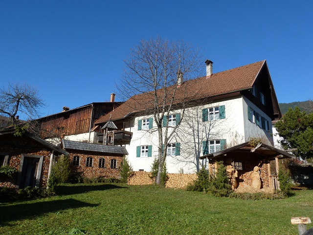 Weihnachtliches Holzdorf in Bad Hindelang
