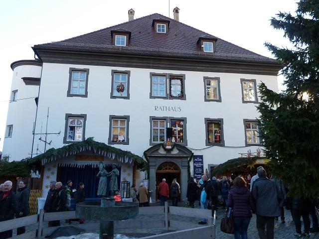 Das Rathaus in Bad Hindelang