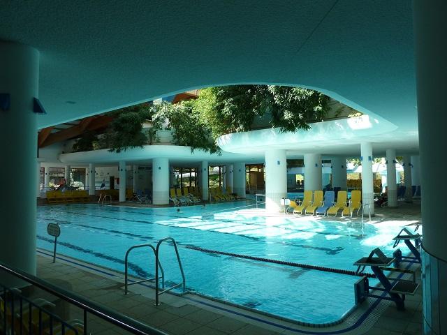 Aquaria Oberstaufen Schwimmbecken