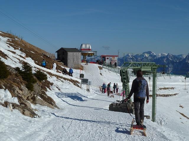 Bergstation Skilift am Breitenberg