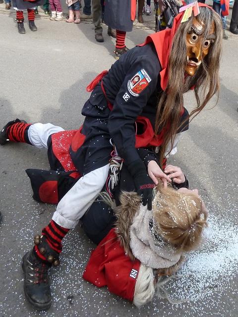 Faschingsumzug Ronsberg 2017 Hexenhandgemenge