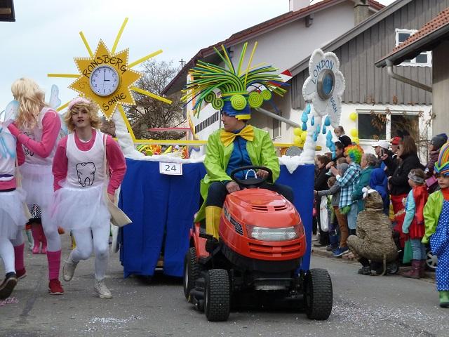 3-Wetter-Taft-Gruppe im Ronsberger Fasching 2017