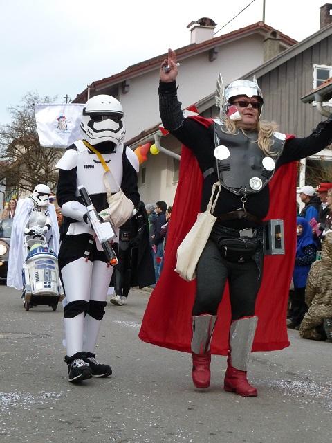 Tausendfüßler Ronsberg 2017 Star Wars