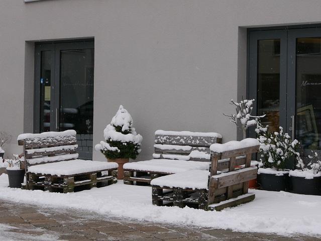 Café Mauerblümchen in Kempten - Außenansicht
