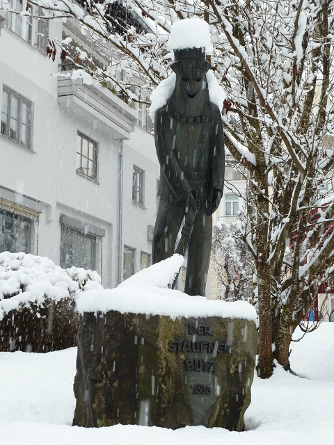 Denkmal des Staufner Butz in Oberstaufen