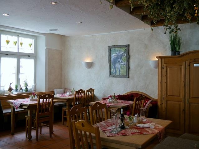 Gaststube im Restaurant Schalander in Kempten