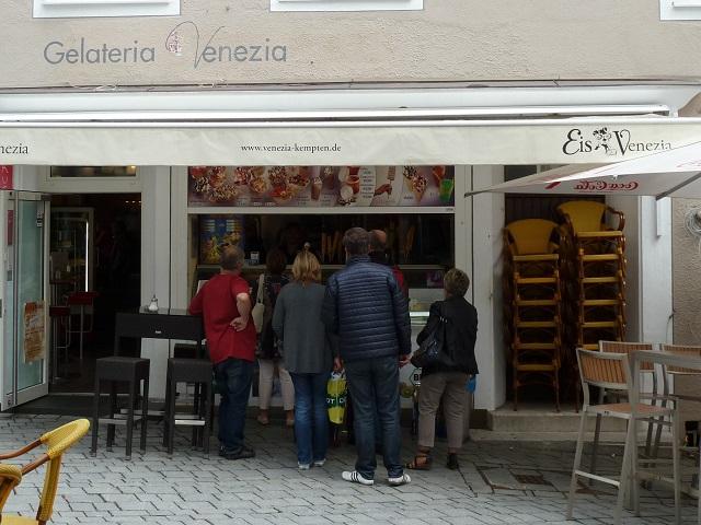 Eiscafé Venezia in Kempten