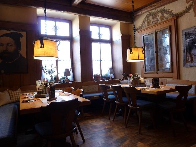 Die Gaststube im Restaurant Korbinian in Kempten