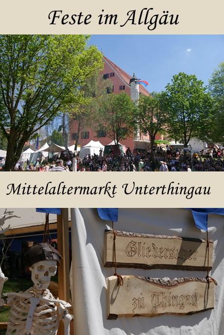 Mittelaltermarkt Unterthingau im Ostallgäu 2017