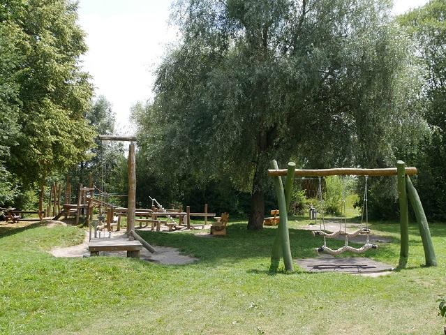 Abenteuerspielplatz Wertachpark in Kaufbeuren