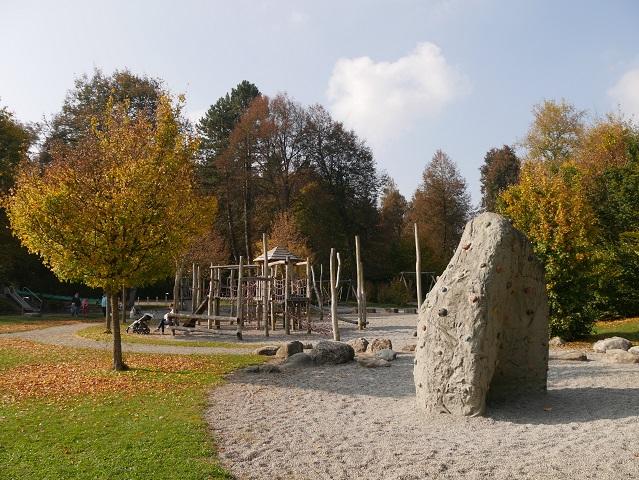 Abenteuerspielplatz im Kurpark Bad Wurzach