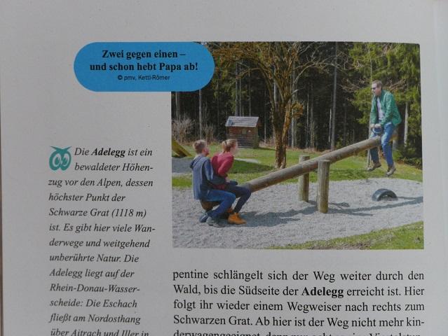 Blick ins Buch Allgäu mit Kindern - Foto meiner Familie