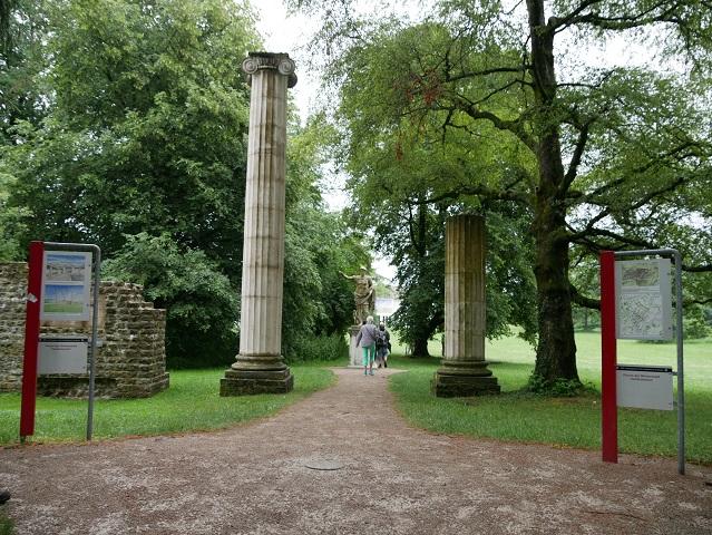 Römisches Forum in Kempten - was heute noch davon zu sehen ist