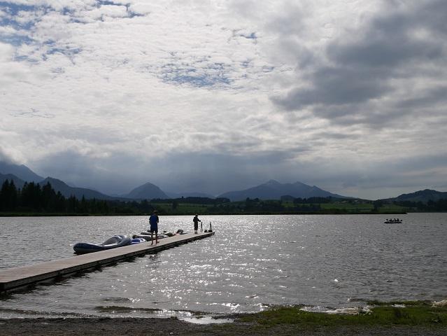 Hopfensee - Badesteg am Campingplatz