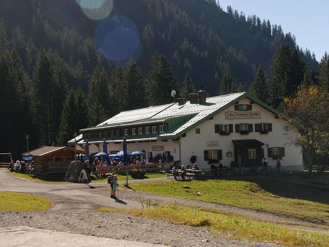 Berggasthof Seealpe an der Nebelhornbahn bei Oberstdorf