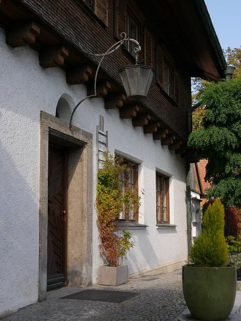 Die frühere Post in Obergünzburg - Außenansicht