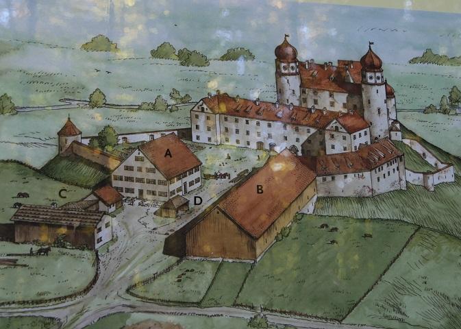 Rekonstruktion der Burganlage Liebenthann