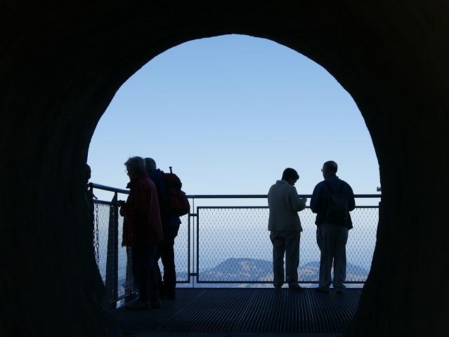 Tunnel zum Panoramasteig am Nebelhorn