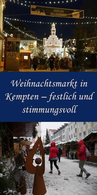 Weihnachtsmarkt Kempten - Pin