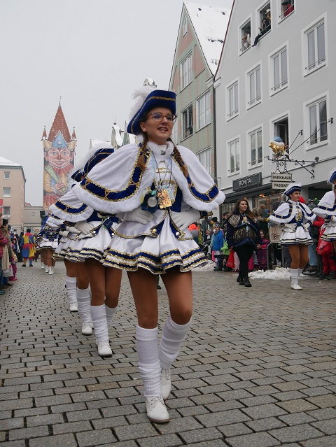 Faschingsumzug Mindelheim 2018 - Garde der Mindelonia
