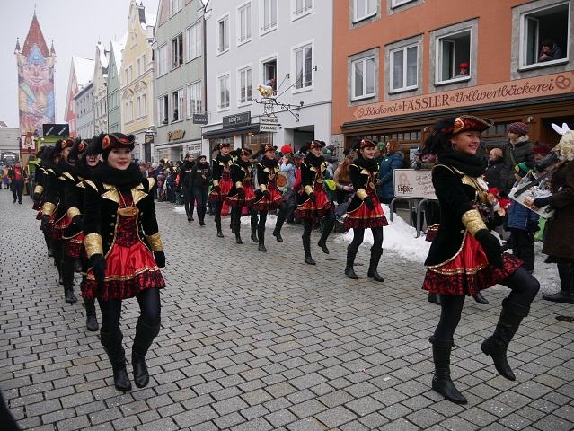 Faschingsumzug Mindelheim 2018 - Garde der Siedelonia