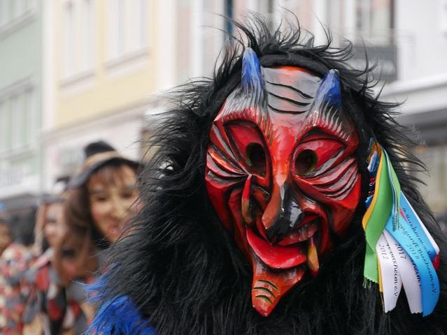 Faschingsumzug Mindelheim 2018 - Teufel